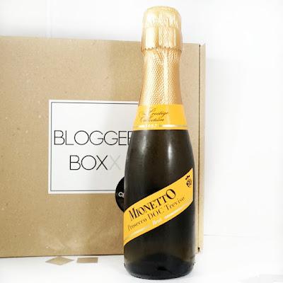 Beautybox Bloggerboxx Celebration Edition Mionetto Prosecco DOC Treviso Brut