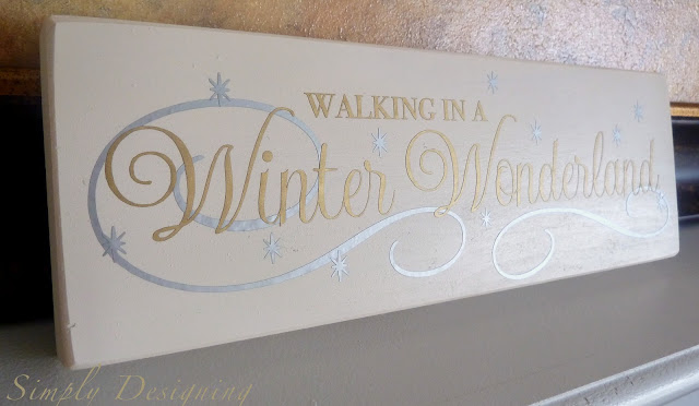 Winter Wonderland Vinyl Sign 03a Silhouette Black Friday Deals + Winter Wonderland Project + Simply Link Party 10