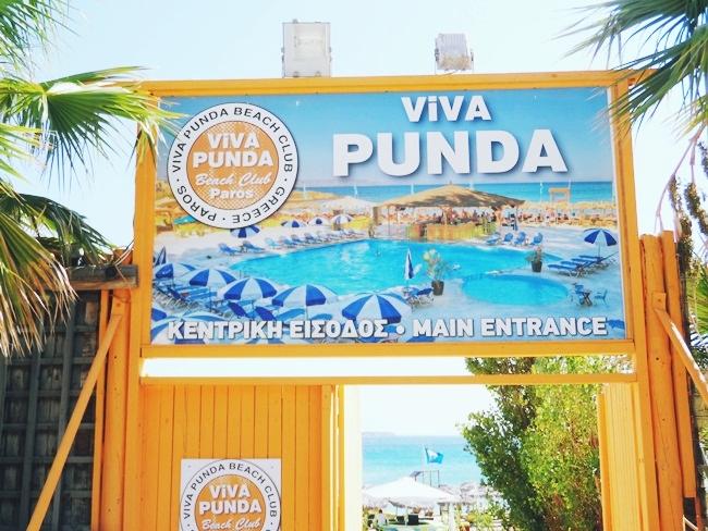 Viva Punda summer beach club main entrance