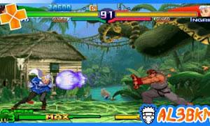 تحميل لعبة Street Fighter Alpha 3 Max psp iso مضغوطة لمحاكي ppsspp