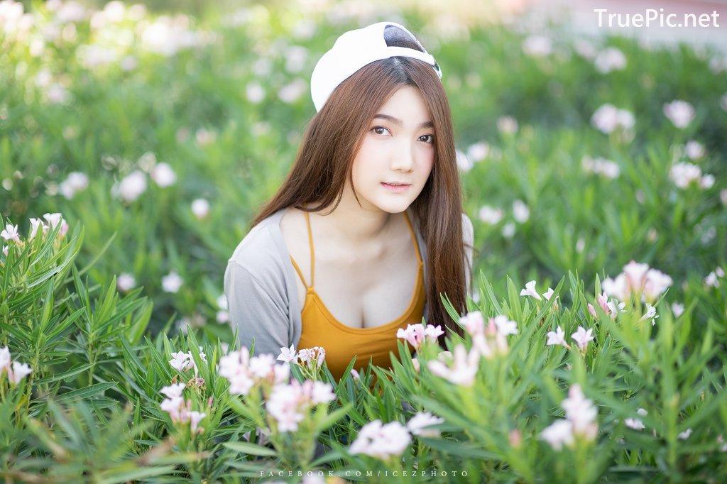Image-Thailand-Cute-Model-Creammy-Chanama-Beautiful-Angel-In-Flower-Garden-TruePic.net- Picture-6