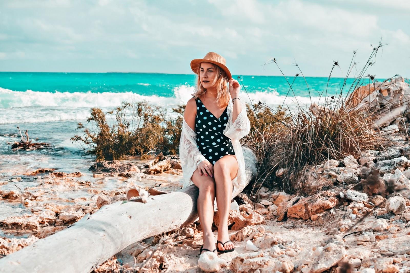 plażowa stylizacja z Kuby