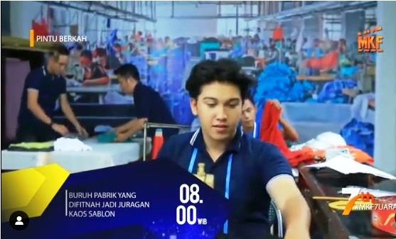 Daftar Nama Pemain FTV Pintu Berkah Buruh Pabrik Yang Difitnah Jadi Juragan Kaos Sablon Indosiar