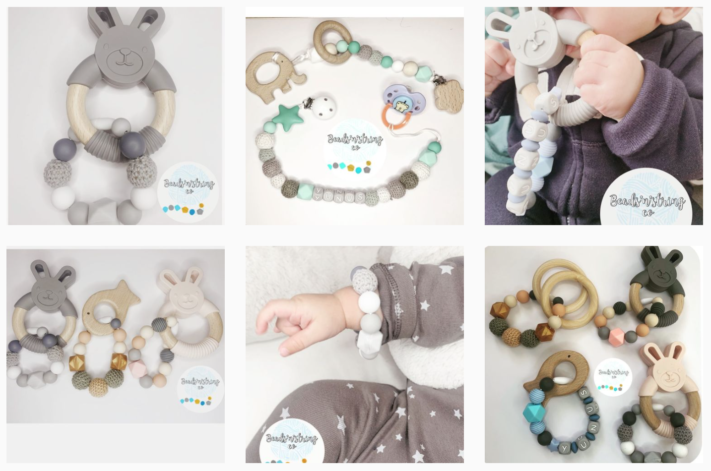 Shop small this Christmas: Baby and toddler gifts.