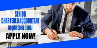 Senior Chartered Accountant required for reputed Contracting company in Abudhabi.