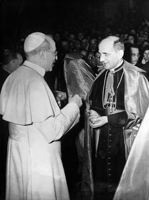 Pius XII and Paul VI