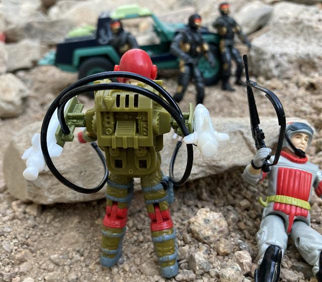1987 Fast Draw, Sneak Peek, 1993 Headhunter Stormtrooper, 1986 Sears Dreadnok Ground Assault, Dreadnok Stinger
