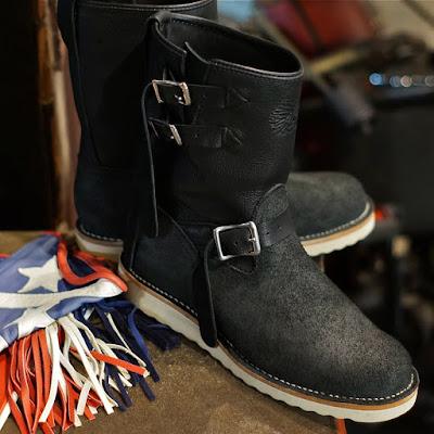 2016年ウエスコジャパン限定モデルとして誕生したウエスコ版インディアンブーツ、ゴートスキンを使用したカスタムボス。
