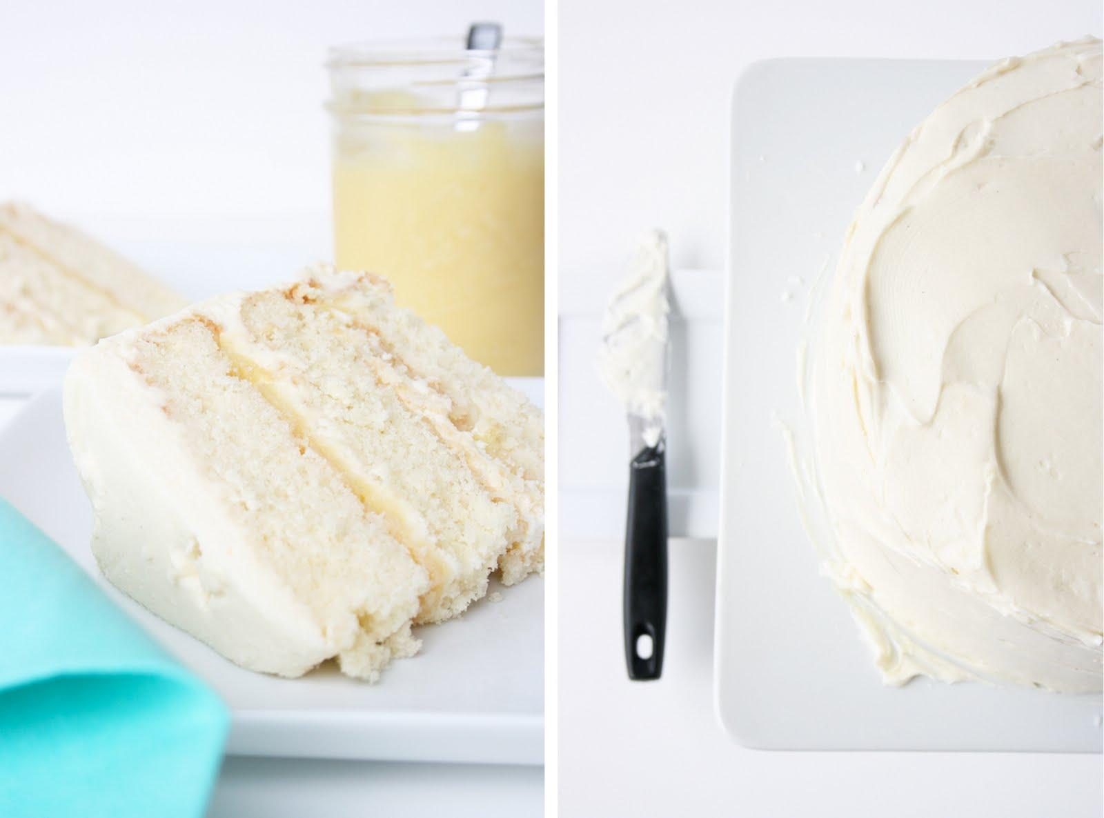 stephmodo Coconut Cake Lemon Curd Fluffy Cream Cheese Frosting