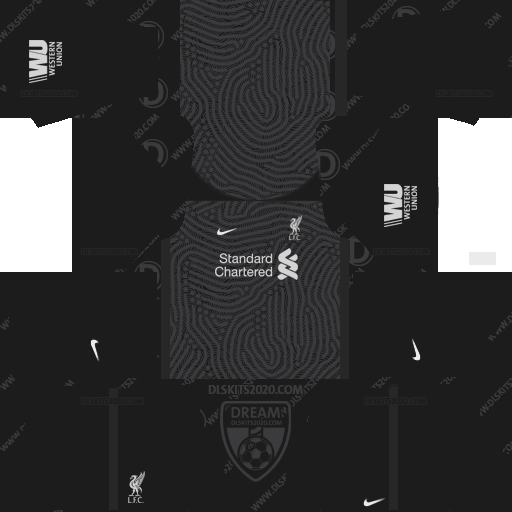 Liverpool Fc Kits 2020-2021 Adidas For Dream League Soccer 2019 (Away Goalkeeper)