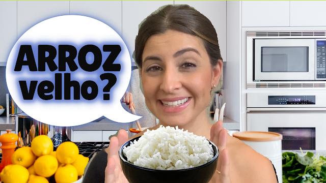Para aproveitar o arroz da geladeira na quarentena e transformá-lo num arroz novinho de novo