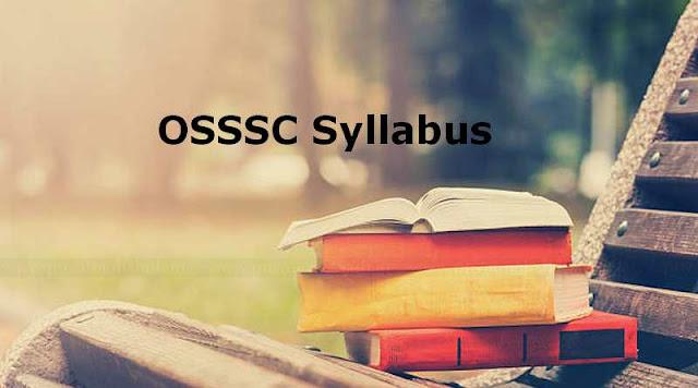 OSSSC Syllabus