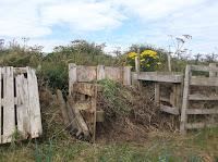 Wooden Pallet Compost Bin