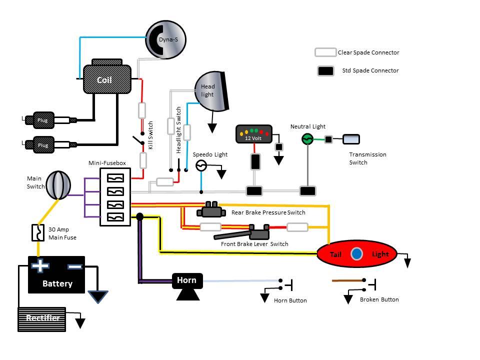 Simple Harley Wiring Diagram - Wiring Library Diagram