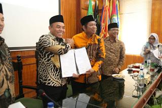 Bupati Labuhanbatu Tandatangani MOU Bersama UIN Sumatera Utara