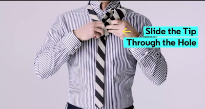 how to tie a perfect tie knot