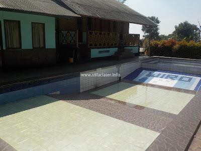 villa di ciater subang yang ada kolam renang