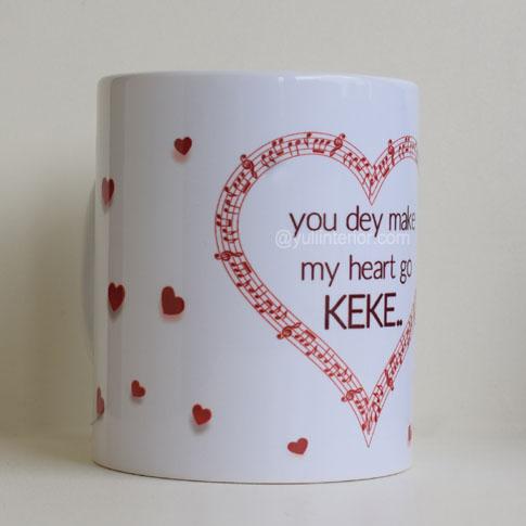 Valentine's Day, Gifts, Ideas, Pidgin, Mug in Port Harcourt, Nigeria