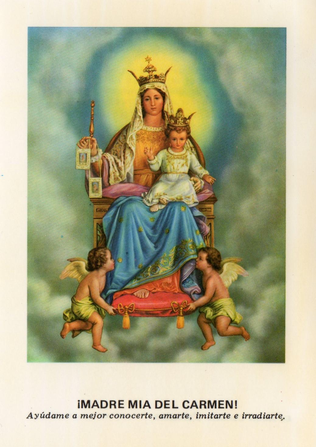 Sancta Mater Dei Prodigios Del Santo Escapulario Del Carmen