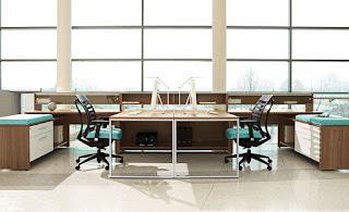 Global Total Office Princeton Desk Layout at OfficeFurnitureDeals.com