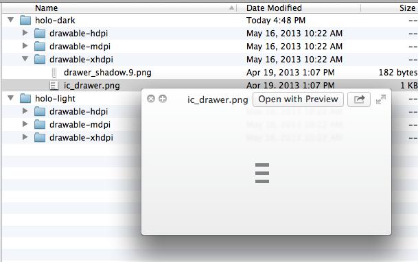 The New Navigation Drawer Design Pattern - DZone Java