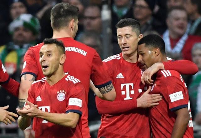 Serge Gnabry mencetak dua gol yang mengantarkan Bayern menang atas Werder Bremen.
