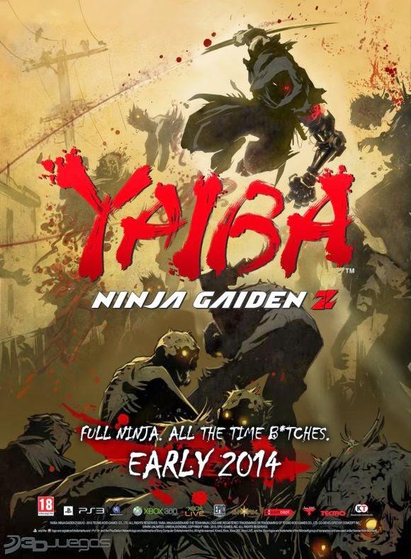 Cover Caratula Yaiba Ninja Gaiden Z PC