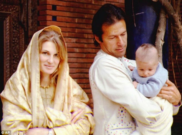 Imran Khan Family Pictures