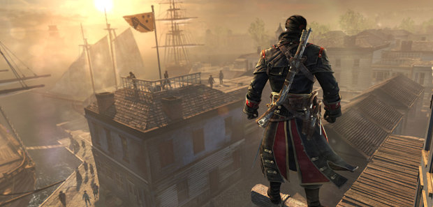 Assassins Creed Rogue Footage