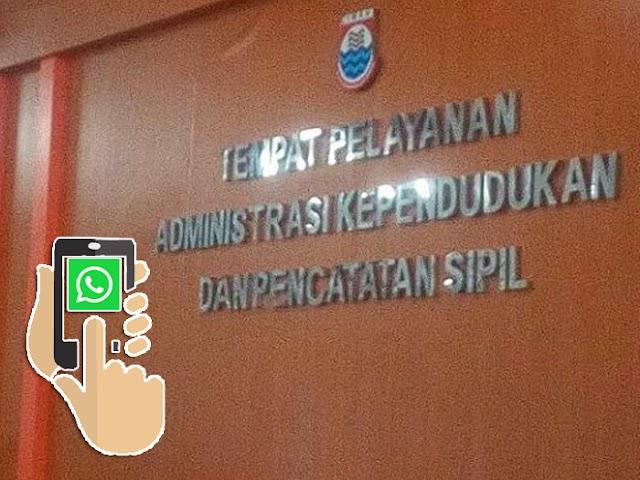 Ini Nomor WhatsApp Layanan Kependudukan Disdukcapil Kota Cimahi