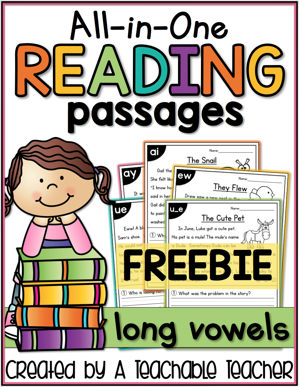 The Primary Pack All In One Reading Passages Freebie