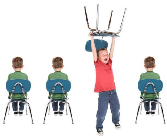 العلاج  من فرط الحركة عند الأطفال