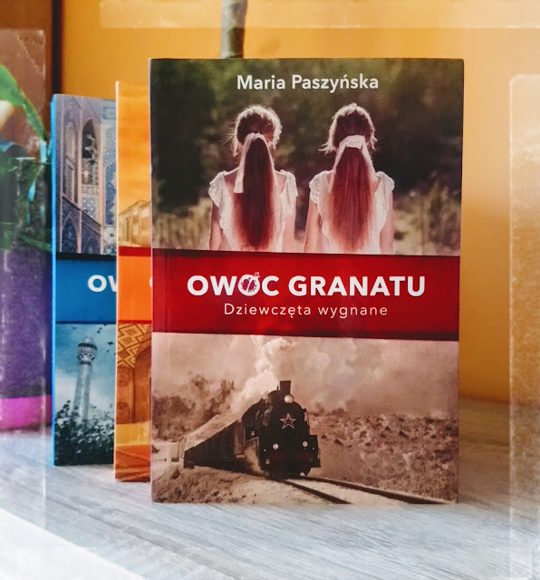 Maria Paszyńska – seria Owoc Granatu tomy 1-3
