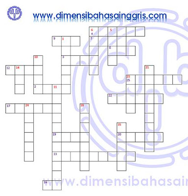 Simple Present Tense Crossword Puzzle dan Kunci Jawaban Free PDF