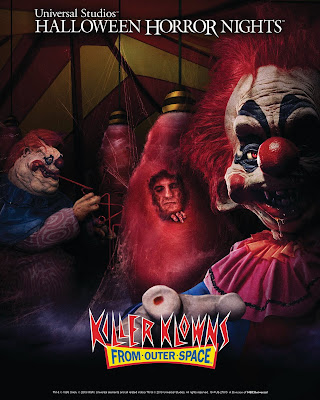 Killer Klowns from Outer Space Mazes at Universal Studios Halloween Horror Nights 2019