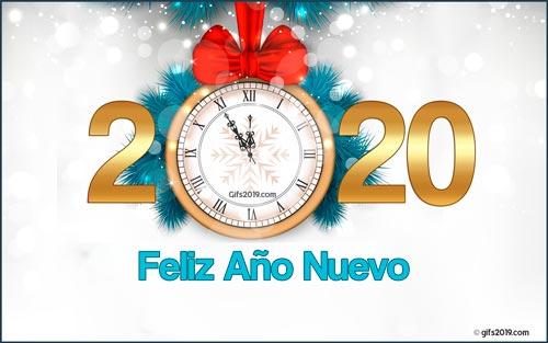 imagen feliz año 2020