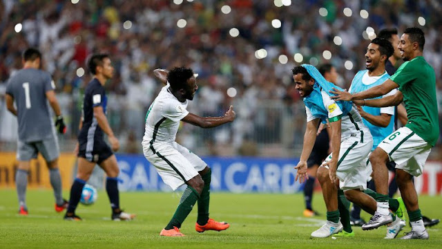 Kalahkan Jepang, Arab Saudi Lolos ke Piala Dunia 2018