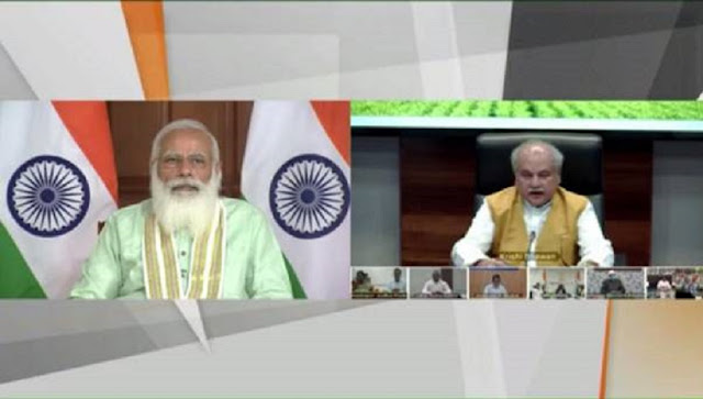 Prime Minister releases 8th instalment of financial benefit under PM-KISAN