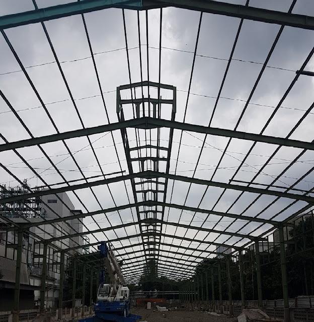Kontraktor baja, steel Structure , Bangunan baja