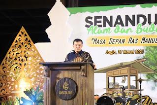 Kapolda Jateng Di Sleman Yogyakarta Hadiri Acara Senandung Alam dan Budaya