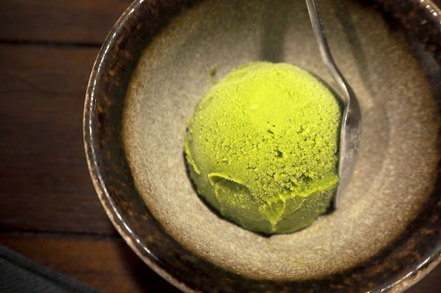 matcha and yuzu sorbet singapore review