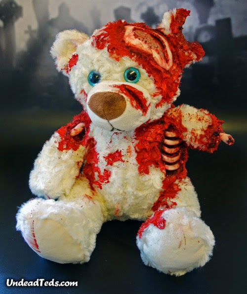 undead ted, zombie teddy bear 2