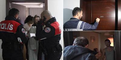 Polisin eve gelip kimlik istemesi,gbt yapması