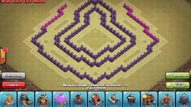 base coc th 7 terkuat untuk war