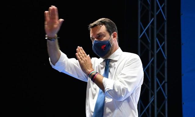 Salvini az olasz jobbközép ellenzék pártjainak szövetségbe olvadását szorgalmazta