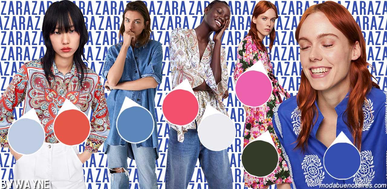 Tendencias de moda primavera verano 2020: Colores primavera verano 2020.