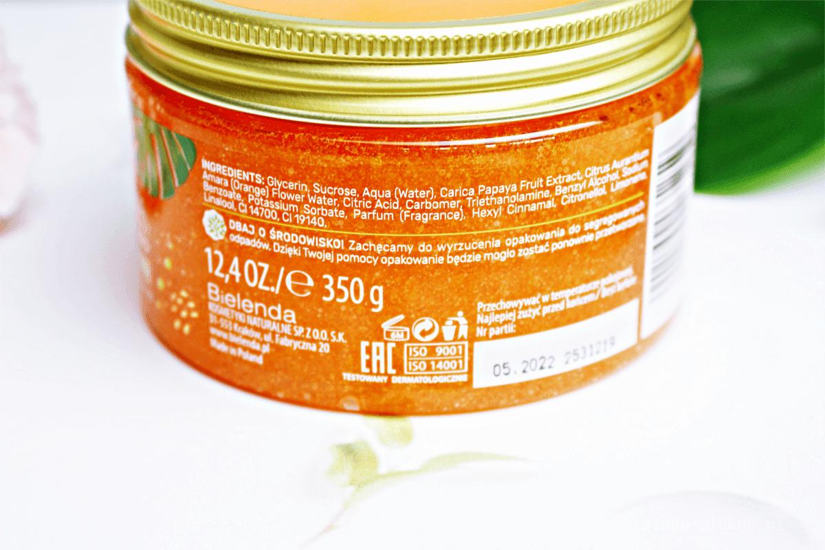 Bielenda Exotic Paradise Peeling do Ciała Papaja