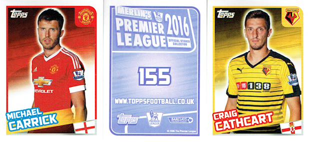 06187278f Topps - Merlin s Premier League 2016 Official Sticker Collection (02) -  Checklist. 2015-16