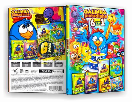 DVD Coleção - Galinha Pintadinha - 6 em 1 - ISO
