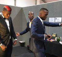 Watch as PAUL POGBA and his twin brothers show off awesome dance moves at MTV EMA.